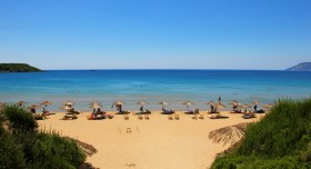 Gerekas beach in Vassilikos by hammershaug