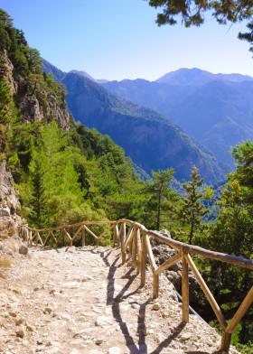 Samariá Gorge på Kreta