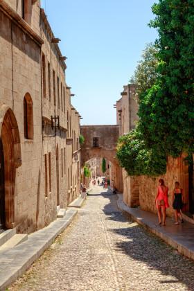 Rhodos, gamla stan